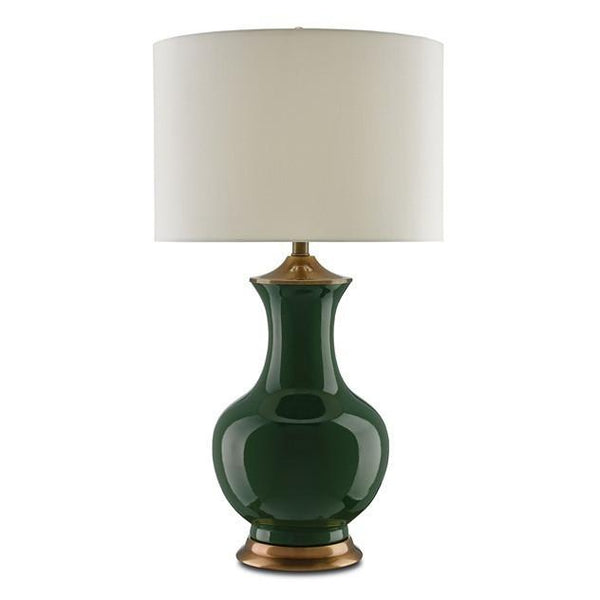 Currey and Company Lilou Table Lamp Green 6000-0022