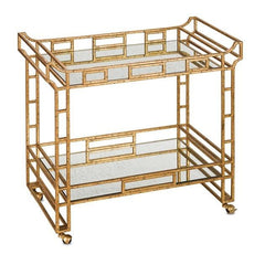 Currey and Company Odeon Bar Cart 4217 - LOVECUP - 3