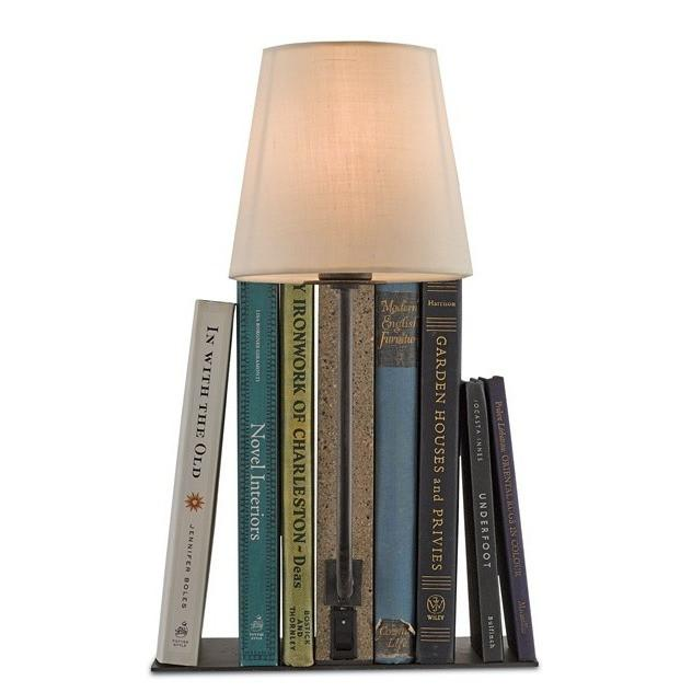 Currey and Company Oldknow Bookcase Lamp  6555 - LOVECUP
