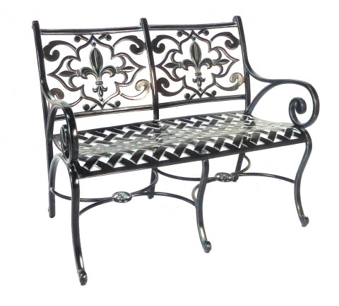 Lovecup Flower Lily Outdoor Settee L7002
