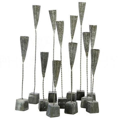 Lovecup Mini Bouquet with Weathered Zinc Bases, Set of 12 - LOVECUP