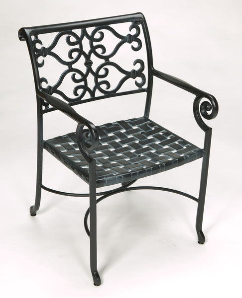Lovecup Outdoor Metal Versailles Patio Chair L1000
