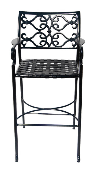 Lovecup Outdoor Metal Versailles Barstool L1001