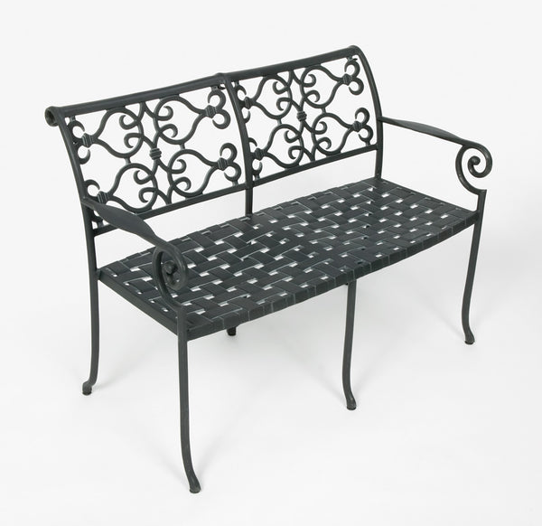 Lovecup Outdoor Metal Versailles Settee L1002
