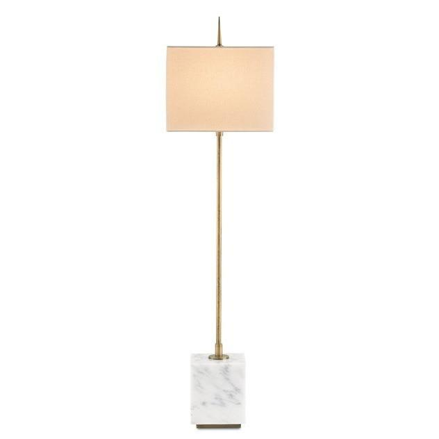 Currey and Company Thompson Console Table Lamp, Brass 6975 - LOVECUP - 2