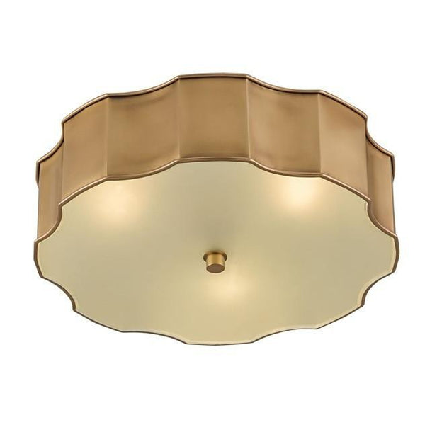 Currey and Company Wexford Flush Mount 9999-0001