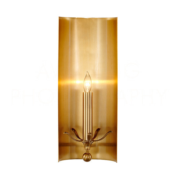 Aidan Gray Riley Antique Brass Wall Sconce WL119