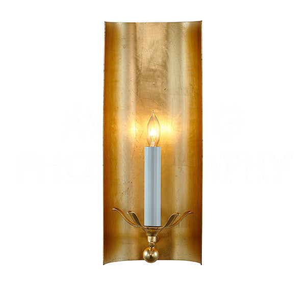 Aidan Gray Riley Gold Sconce WL119