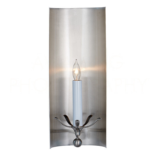 Aidan Gray Riley Nickel Wall Sconce WL119