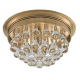 Currey and Company Worthing Flush Mount - LOVECUP - 2
