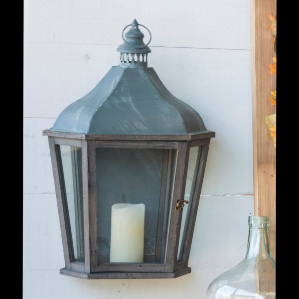 Lovecup French Farmhouse Wall Candle Lantern L930