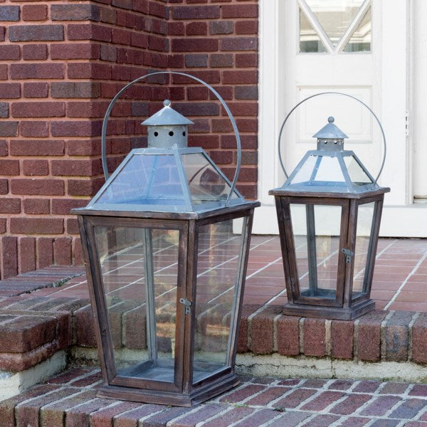Lovecup Franklin Candle Lantern, Set of 2 L1762