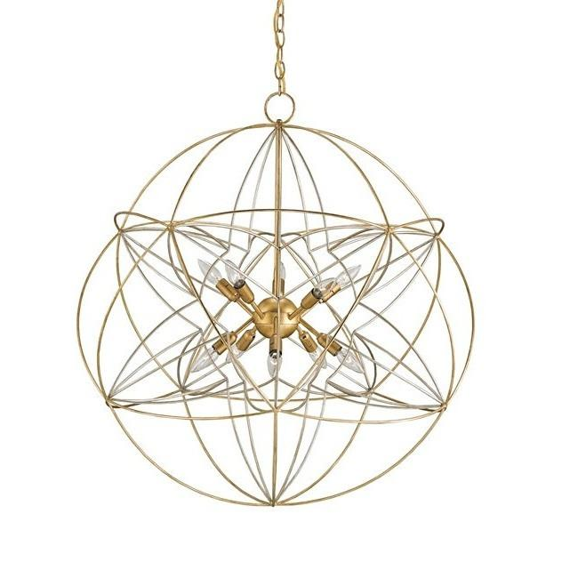 Currey and Company Zenda Orb Chandelier 9840 - LOVECUP