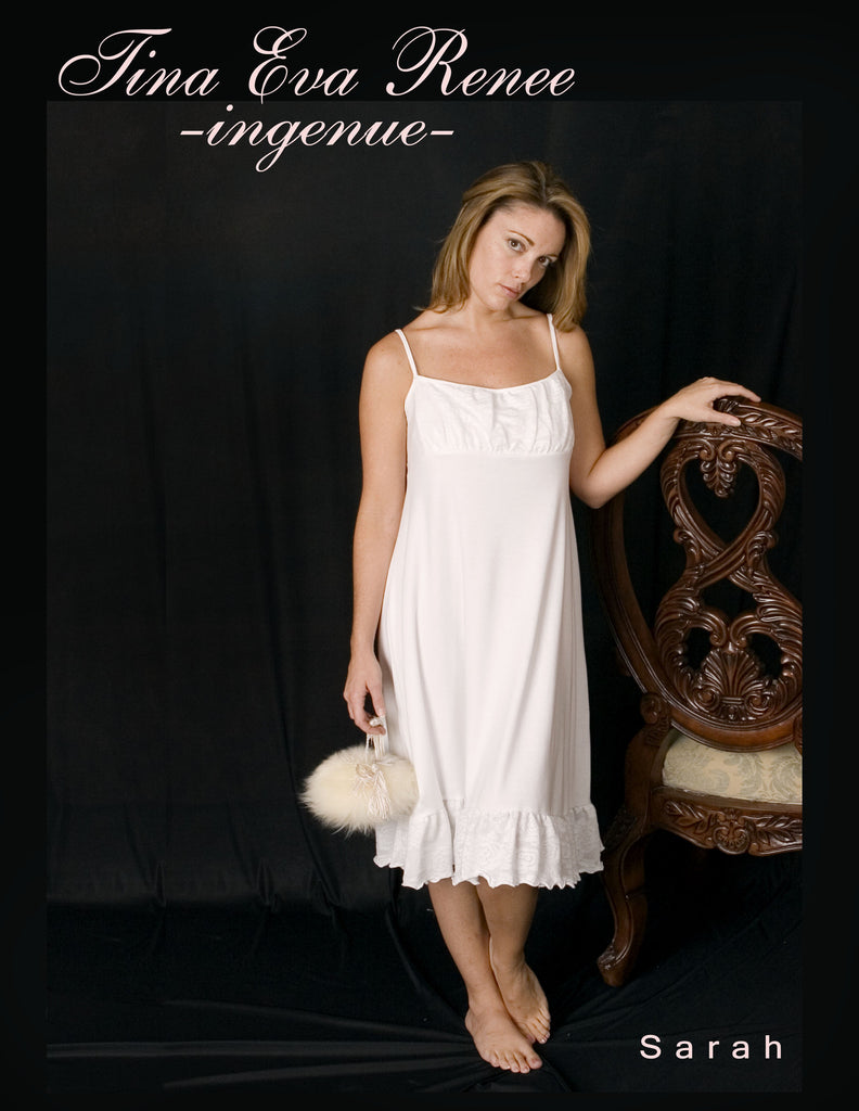 SARAH nightgown......ingenue....... so sweet and innocent
