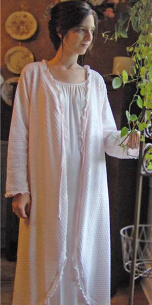 Long Sleeve 3/4 Length Swing Robe Dot Collection