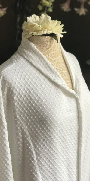 3/4 Length Zip Robe Dot Collection