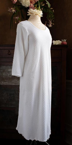 3/4 Sleeve 3/4 Length Gown Dot Collection