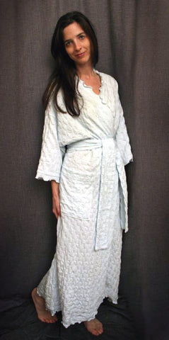 Long Wrap Robe Waffle Collection