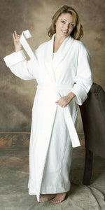 Long Shawl Collar Robe Dot Collection