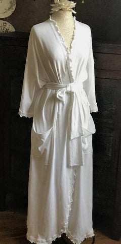 Long Wrap Robe Interlock Collection