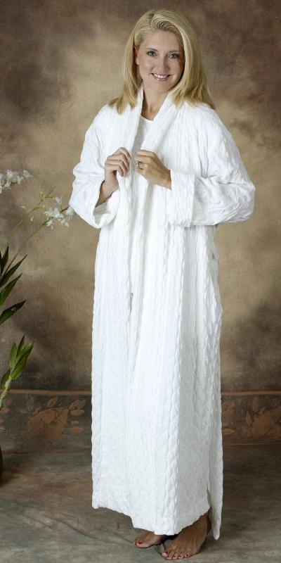Long Shawl Collar Robe Waffle Collection