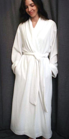 Long Shawl Collar Robe Basket Weave Collection
