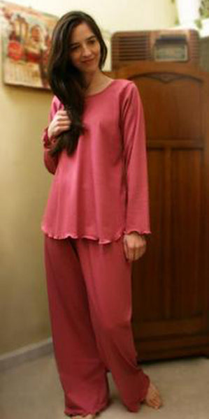 Celebration Long Sleeve Long Top & Long Pant Interlock