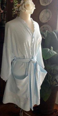Short Wrap Robe Dot Collection