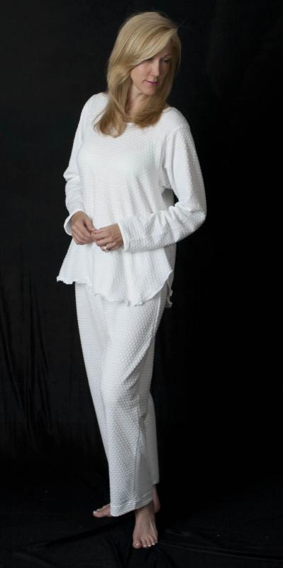 Long Sleeve Long Top & Long Pant Dot Collection