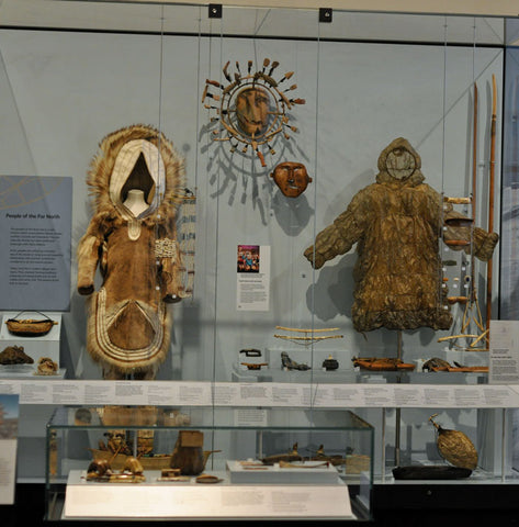 Permanent exhibition at the National Museums Scotland
