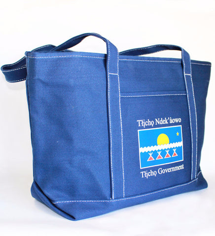Tłı̨chǫ Government Tote Bag