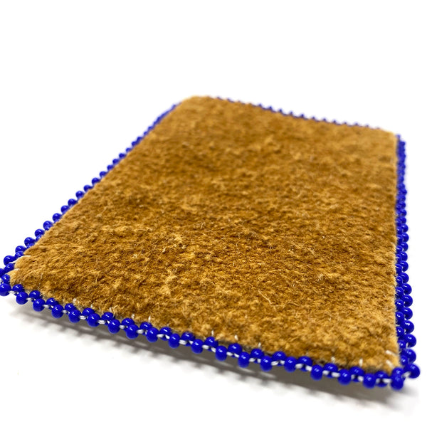 Beaded Hide Cardholder
