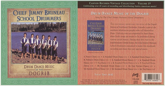 Chief Jimmy Bruneau School, Drummers - CD
