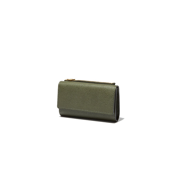 KEY CASE(COIN CASE付) <br>OLIVEGREEN<br> (キーケース) - takumitokyo.