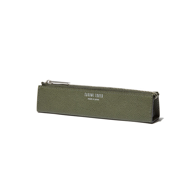 PEN CASE<br>OLIVEGREEN<br>(ペンケース) - takumitokyo.