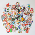 100 Piece Studio Ghibli Sticker Bomb Set
