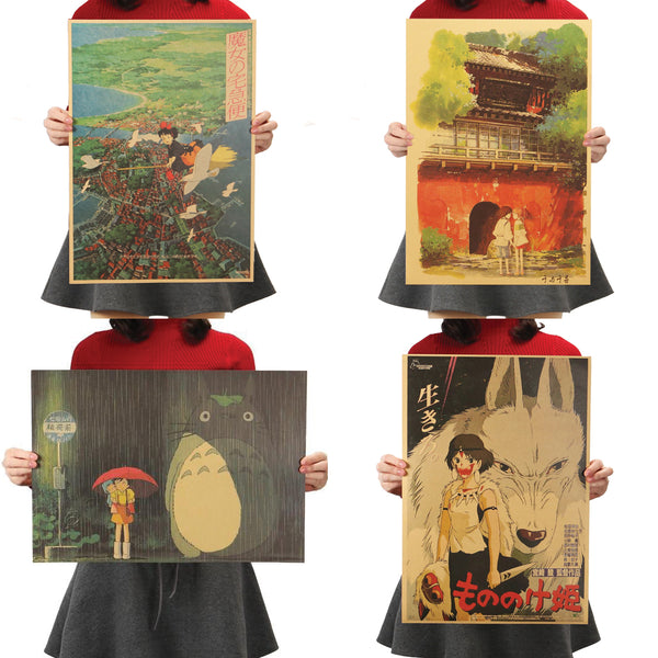 Assorted Studio Ghibli Posters 1