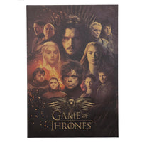 Game of Thrones Cast Poster