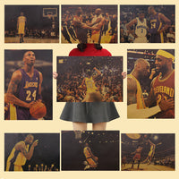 Kobe Bryant Basketbal NBA retro posters