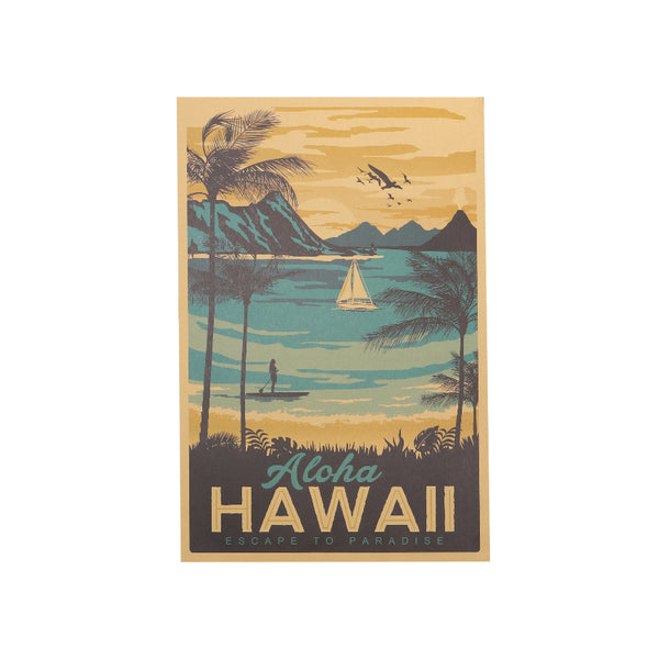 Visit Hawaii Travel Poster