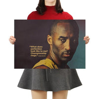 Kobe Bryant Success Poster