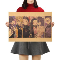 Demon Slayer Poster Various Print Collection