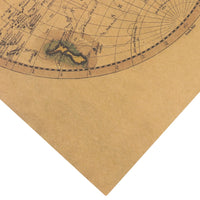 Old world Map Projection Poster