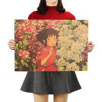 LARGE  Assorted Studio Ghibli Posters 2