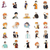 102-Piece Haikyu Sticker Bomb Set