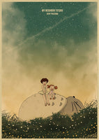 Studio Ghibli Assorted Minimalist Retro Posters Prints