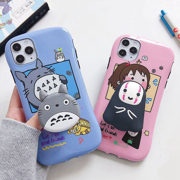 Ghibli Chibi iphone Cases