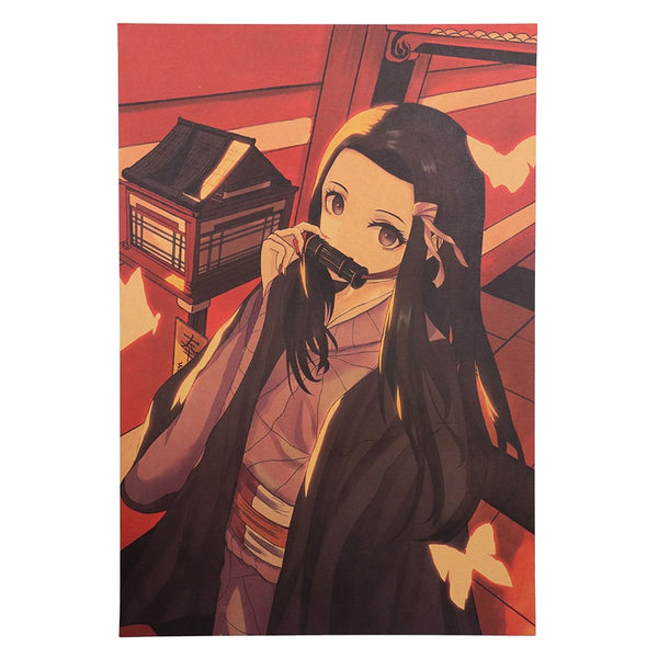 Nezuko Demon Slayer Poster