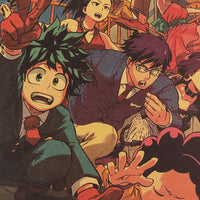 Boku no Hero Academia Gang Poster