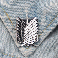 Attack on Titan Scout Enamel Pins